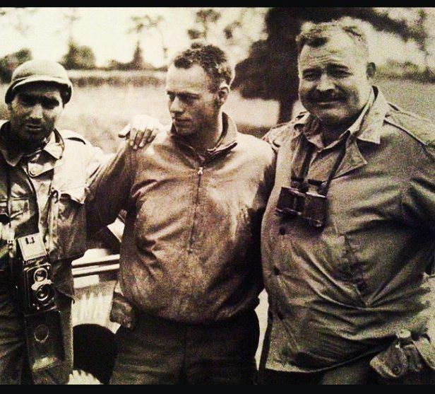 Capa & Hemingway in Dangy