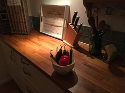 The kitchen in Dangy