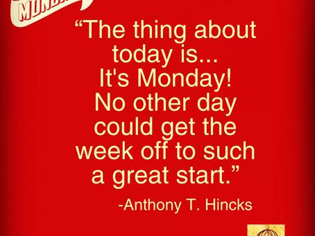 MondayMotivation...