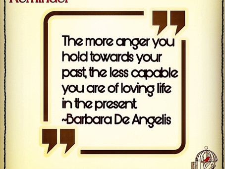 LIVING WITH TOO MUCH ANGER?