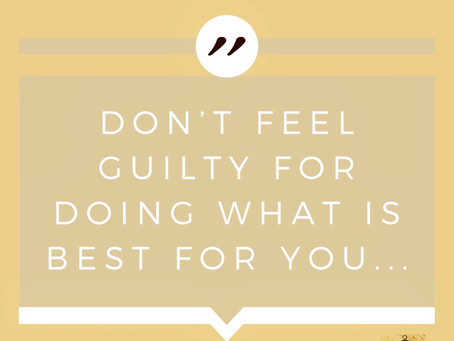 Are you plagued by guilt?