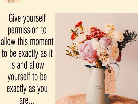 Self talk...
