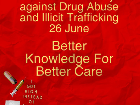International Day Against Drug Abuse and Illicit Trafficking, 26 June 2020