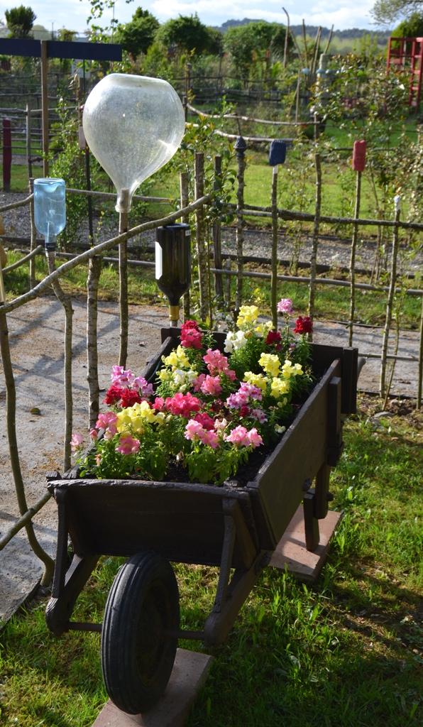 belle brouette de printemps