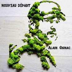 Alain Gignac_Nouveau Départ_Pochette Alb