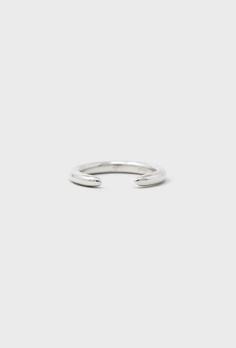 """U013 """" TAPERED """" RING / SILVER"""