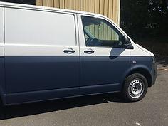 Navy campervan Volkswagen