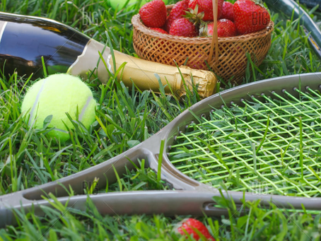 Serve up an ace with your Wimbledon food & drinks!