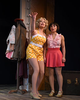 "Ruby in ""Dames At Sea"""