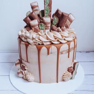 Loaded Vanilla & Caramel Cake
