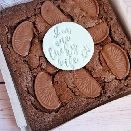 Terry's Brownie Birthday Slab