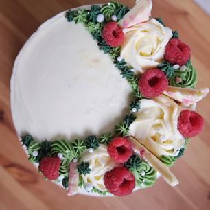 White Chocolate & Raspberry (Green Edition)