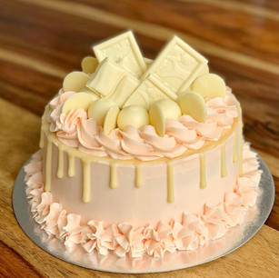 White Chocolate Celebration Cake