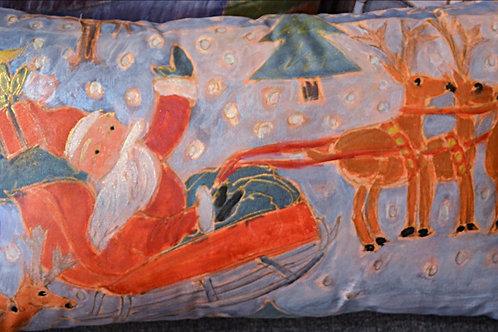 santa In the Sky 12 x22