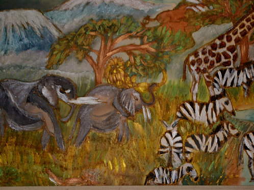 Elephants 1 14x18