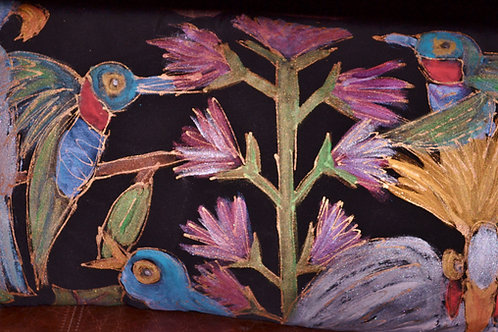 Tropical birds 1 12x20