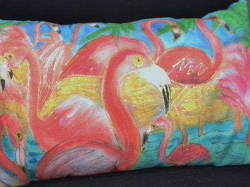 Flamingos I 12 x 20