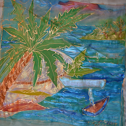 Palm trees 2 16x16