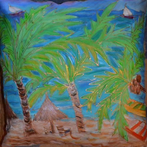 Palm Trees 1 18x18