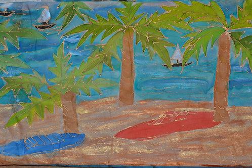Palm Trees 2  12 x22