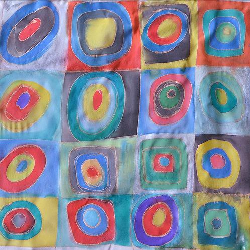 Kandinsky squares 18x18