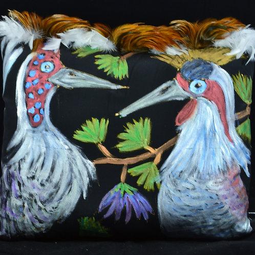 Love Crane Birds I 18x22