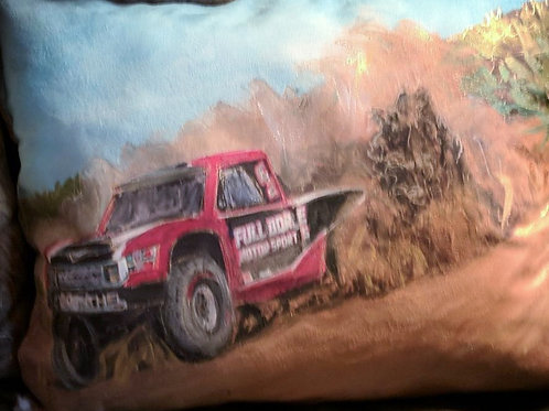 Red  Trophy  Truck  16x20