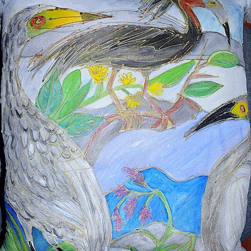 Audubon Birds, with white Feathers