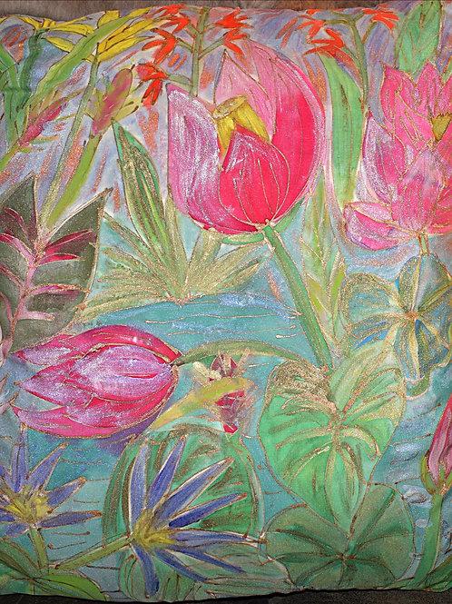 Lily Pond1 20 x20