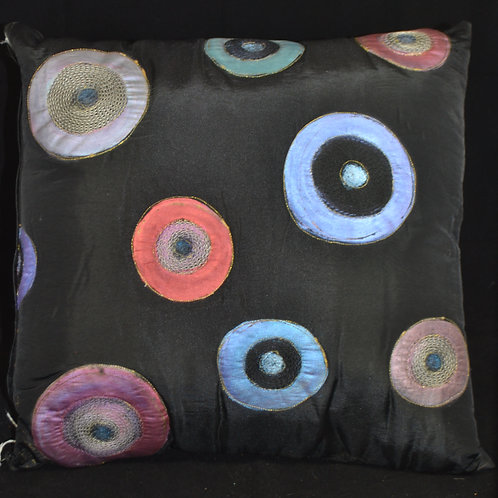 Designer  Black with stitched 20x20