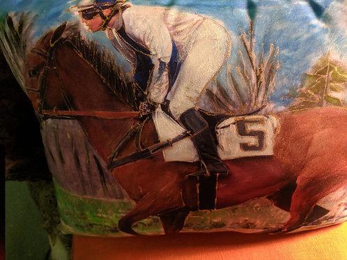 Single Horse and Jockey 5