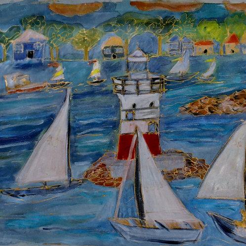 Cape Cod Lighthouse  14x18