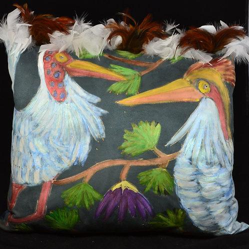 Love Crane Birds II 118x22
