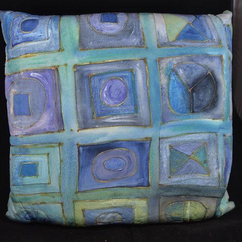 Squares in Squares blue