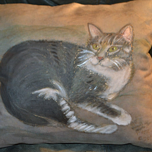 Gray Cat16x16