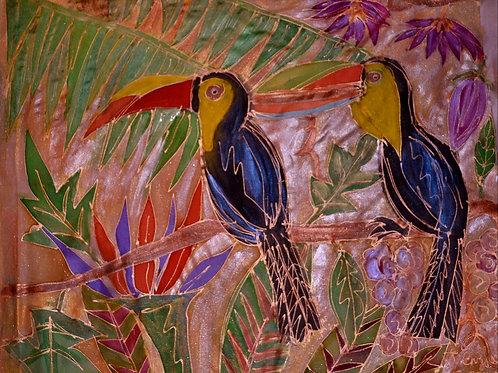 toucans 2 18x22