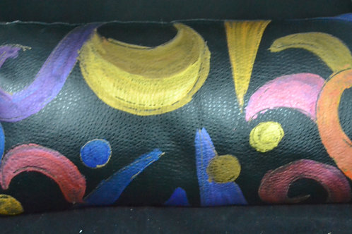 Leather with a twist  12x22