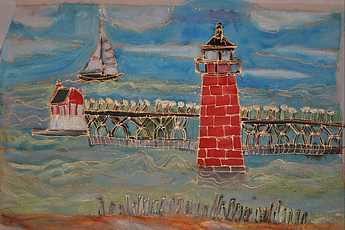 South Haven Lighthouse 12x20