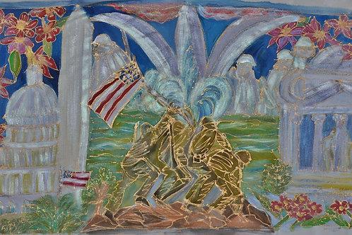 Washington memorials  12 x 22
