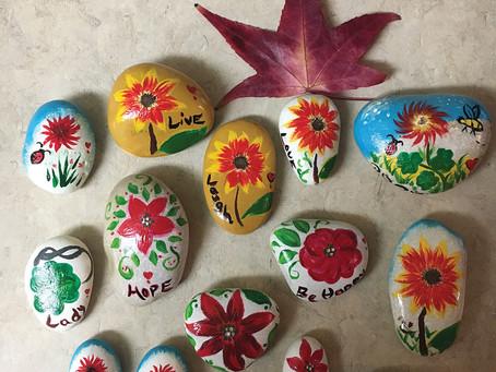Community Spirit, Creativity, Sharing and Giving - Napa Rocks and Ripple Effects