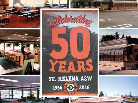 St. Helena A&W Celebrates 50 Years
