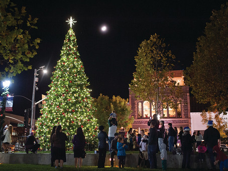 Downtown Napa for the Holidays