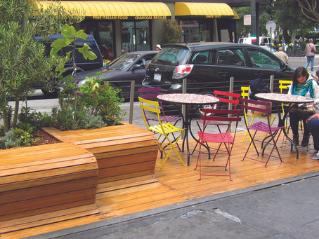 New Parklets & Shared Spaces Pilot Program