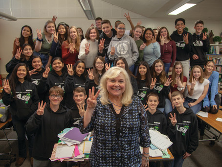 Inspiring Students Through Community Service  - Patty Wyman