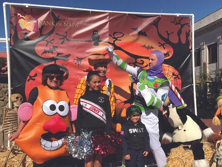 Hometown Halloween Trick or Treating