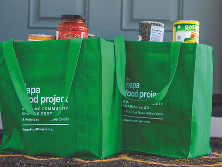 Celebrating 5 Years and 200,000 Meals Donated - The Napa Food Project is Hungry for More
