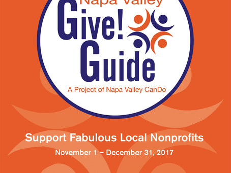 BE ON  THE LOOKOUT! CanDo's 2017 Napa Valley Give!Guide