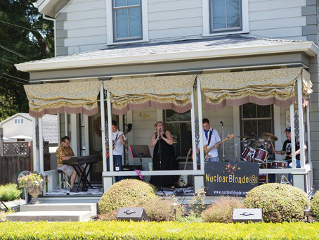 Porchfest Showcases Local Bands & Napa Neighborhoods