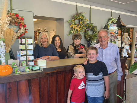 Garaventa's Florist Delivers - Marking Milestones for 50 Years