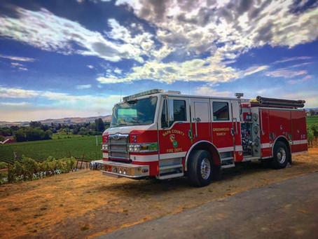 First Responder Heroes - Volunteer Firefighters Needed in Napa County!